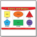BrainyMats - Early Learning & the Arts: Colors and Shapes BrainyMat by EDUCATIONAL PLACEMATS LLC
