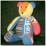 Baby Clothes Bear by THE PATCHWORK BEAR