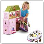 Loving Family Grand Dollhouse & Mini-Van Value Bundle by FISHER-PRICE INC.