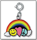 Charm It! Peace Love and Happiness Charm by HIGH INTENCITY CORP.