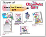 OrganWise Guys Back to School Kit by THE ORGANWISE GUYS INC.