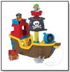 Mega Bloks Pull Along Musical Pirate Ship by MEGA BRANDS