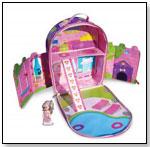 Zipbin Doll House Playpack