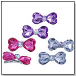 Bow Gem Hairclips by CREATIVE EDUCATION OF CANADA