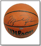 Michael Jordan Signed Basketball by ENTERTAINMENT EARTH INC.