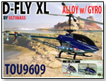 D-FLY XL Alloy with Gyro Helicopter by EMIRIMAGE CORP.