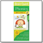Brain Quest Write & Erase Set: Phonics by WORKMAN PUBLISHING