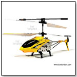 Syma - 3 Channel Radio Controlled Infrared Remote Controlled Electric RC Micro Mini Helicopter w/ Gyro by TOY WONDERS INC.
