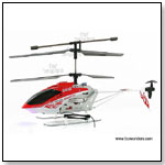 Syma - 3 Channel Electric Helicopter RTF w/ Auto Stabilizing Gyro + Metal Frames + Cool Strobing Head Lights by TOY WONDERS INC.