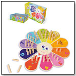 Eco-friendly Wooden Flower Counting Game by BOIKIDO