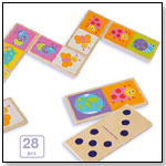 Eco-Friendly Wooden Double Sided Domino by BOIKIDO