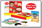 Funny Faces Magnetic Set by MEADOW KIDS