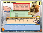 Fractions in the Real World Work Cards by WORLD CLASS LEARNING MATERIALS INC.
