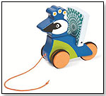 Pull-Along Friend Peacock by MANHATTAN TOY