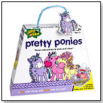 Chimp and Zee Pretty Ponies Craft Kit by PRESSMAN TOY CORP.