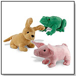 Plush Animated Animal Banks by MARK FELDSTEIN AND ASSOCIATES INC