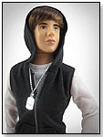 Justin Bieber Real Hairstyle Doll by THE BRIDGE DIRECT INC