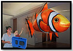 Air Swimmers Flying Fish - Clownfish by WILLIAM MARK CORP