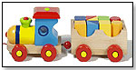 Wooden Pull Train by GOKI