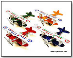 Show Flight Bi-planes Die-cast Model Airplanes by TOY WONDERS INC.