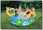 Banzai Slide & Spray Pool by MANLEY TOY DIRECT