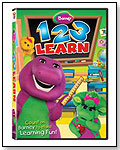 Barney: 1-2-3 Learn by HIT ENTERTAINMENT