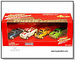 RC2 Johnny Lightning JL - Muscle Truck 4-Car Set. 1:64 scale diecast collectible model car by TOY WONDERS INC.