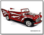 Auto World Silver Screen Machines - Greased Lightning. 1:18 scale diecast collectible model car by TOY WONDERS INC.