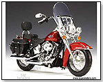 Die-Cast Promotions - 2009 Harley-Davidson FLSTC Heritage Softail Motorcycle. 1:12 scale diecast collectible models</title><style>.adr8{position:absol by TOY WONDERS INC.