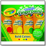 Washable Fingerpaints 4ct Bold by CRAYOLA LLC