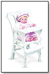 Wooden Doll High Chair by MELISSA & DOUG
