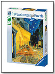 Van Gogh - Café Terrace at Night 1500 pc Puzzle by RAVENSBURGER