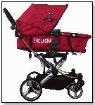 My Englacha Easy 3-in-1 top-swiveled stroller by ENGLACHA USA, INC.