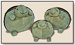 Twilight Turtle Poufs by CLOUD B