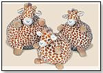 Gentle Giraffe Poufs by CLOUD B