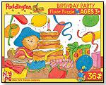 Paddington Bear - Birthday Party Floor Puzzle by NEW YORK PUZZLE COMPANY LLC