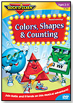 Colors, Shapes, & Counting DVD by ROCK
