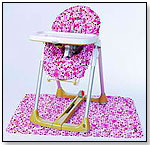 Messeez highchair, Mats, & Car Seat  Covers by JUVENILE SOLUTIONS, INC.