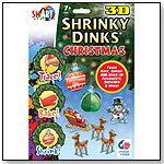 Christmas Shrinky Dinks in 3D by BSW TOY INC.