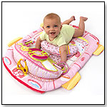 Bright Starts Tummy Cruiser Prop & Play Mat - Pretty in Pink by KIDS II