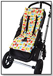 NuComfort Memory Foam Stroller Pad & Seat Liner by TIVOLI COUTURE, INC.