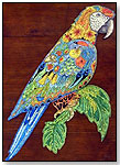 Macaw Wooden Jigsaw Puzzle by LIBERTY PUZZLES