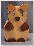 Wooden Koala Bear Bank by CHARLIE'S WOODSHOP