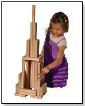 Beautiful Building Blocks by TIMBERWORKS TOYS