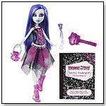 Monster High Spectra Vondergeist Doll With Pet Ferret And Rhuen by MATTEL INC.