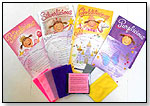 Pink, Silver, Purple and Gold - Dancing Scarves with Magically Inspired Music (Set of All 4 Hardcover Books) by ARTS EDUCATION IDEAS