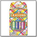 18 Crayons by eeBoo corp.