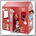 Fire Station Play Box by BOX-O-MANIA