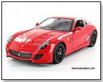 Mattel Hot Wheels - Ferrari 599 GTO - 1:18 Scale die-cast collectible metal car by TOY WONDERS INC.