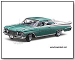 "Sun Star Platinum - 1959 Oldsmobile ""98"" - 1:18 scale die-cast collectible model car by TOY WONDERS INC."